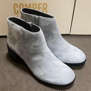 カンペール(CAMPER)の新品 Camper Lotta カンペール ショートブーツ グレー(ブーツ)