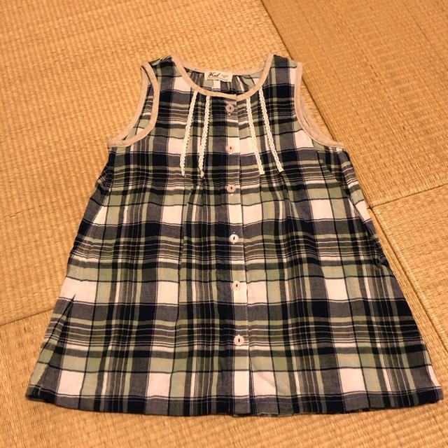 BEBE Noeil(ベベノイユ)のベベ ノイユ チュニック・レギンス 95 キッズ/ベビー/マタニティのキッズ服女の子用(90cm~)(Tシャツ/カットソー)の商品写真