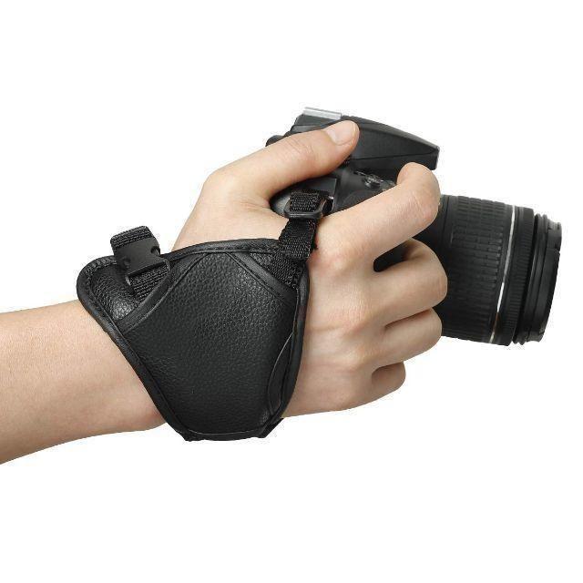 カメラグリップ(ハンド)ストラップ キャノン・ニコン・ソニーなど対応 スマホ/家電/カメラのカメラ(その他)の商品写真
