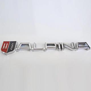 BMW - アルピナ 金属ステッカー ロゴ エンブレム  BMW シルバー