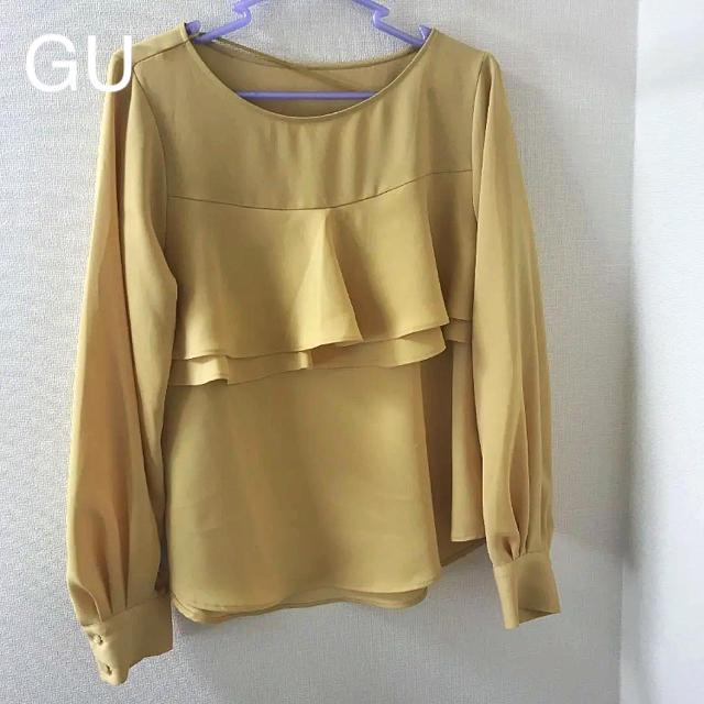 GU(ジーユー)のGU ブラウス M レディースのトップス(シャツ/ブラウス(長袖/七分))の商品写真
