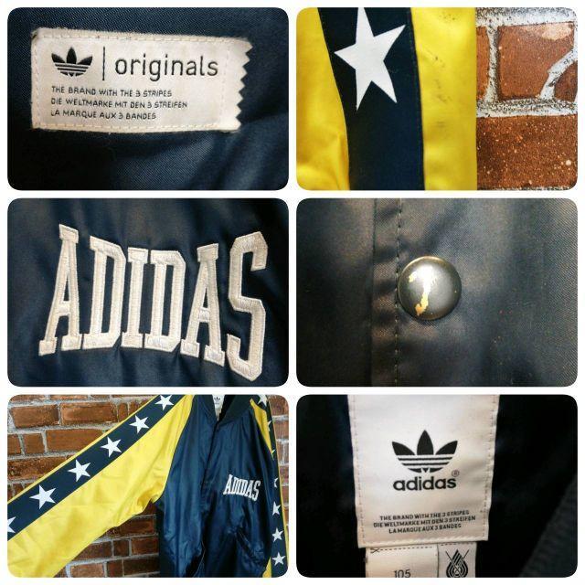 adidas(アディダス)の【サイドライン】【バイカラー】アディダスオリジナルス☆刺繍ロゴ ブルゾン メンズのジャケット/アウター(ブルゾン)の商品写真