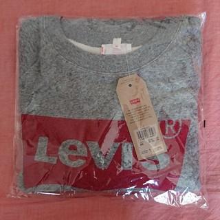 Levi's - 【新品未使用】Levi's バットウィング クルーネックスウェット グレー
