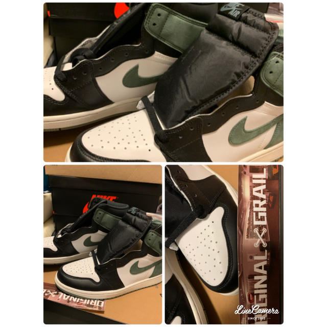 NIKE(ナイキ)のAJ1 clay green 28.5cm 北米限定 メンズの靴/シューズ(スニーカー)の商品写真