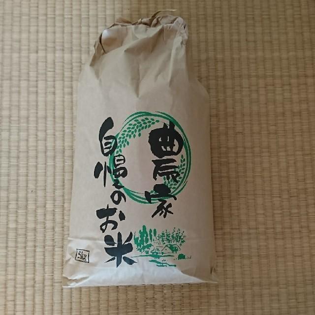 お米コシヒカリ5kg 食品/飲料/酒の食品(米/穀物)の商品写真
