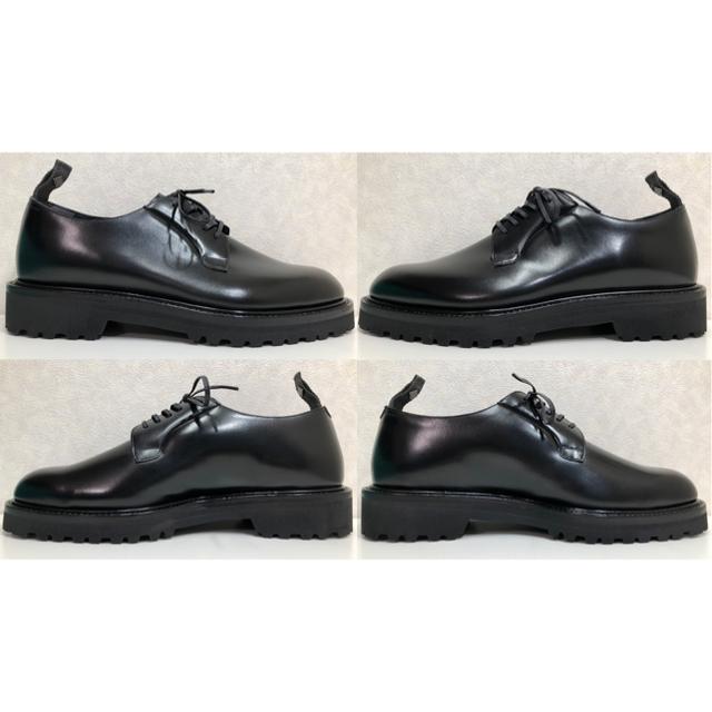 【新品】WH ダブルエイチ 外羽根プレーントゥ サイズ7【送料無料】 メンズの靴/シューズ(ドレス/ビジネス)の商品写真