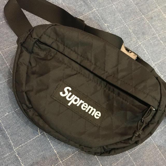 Supreme(シュプリーム)のシュプリーム ウエストバック ブラック  メンズのバッグ(ウエストポーチ)の商品写真
