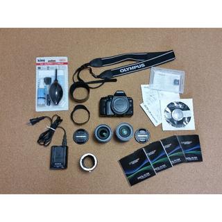 オリンパス(OLYMPUS)のデジタル一眼レフカメラ OLYMPUS E-620 15点セット(デジタル一眼)