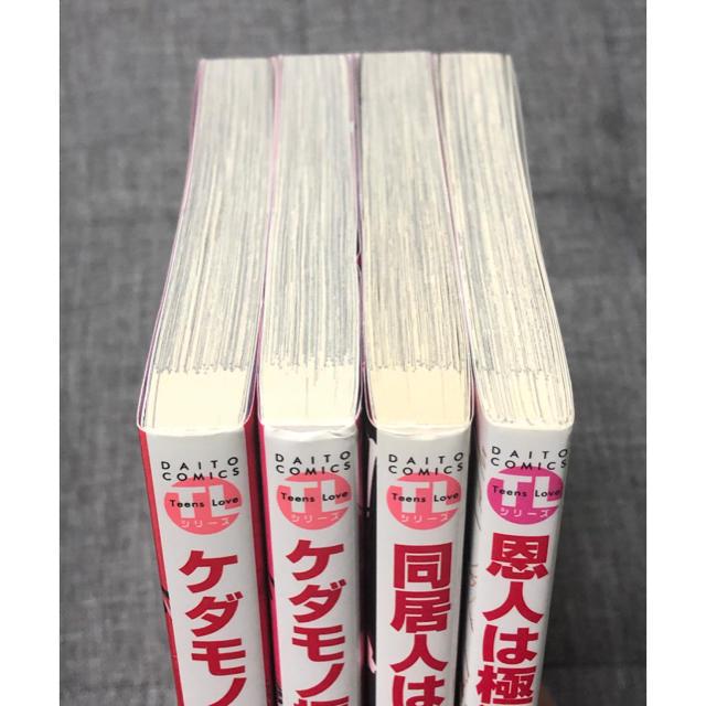 TLコミック 4冊セット エンタメ/ホビーの漫画(女性漫画)の商品写真