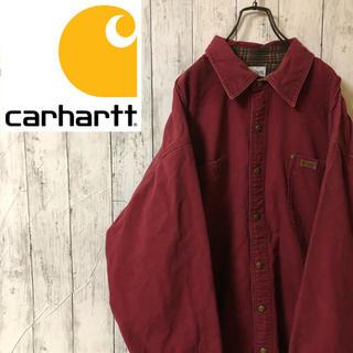 カーハート(carhartt)の【激レア】カーハートCarhartt☆厚手レアカラーボタンワークジャケット(カバーオール)