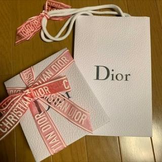 クリスチャンディオール(Christian Dior)の【特別限定】ディオール ラッピング セット(ラッピング/包装)