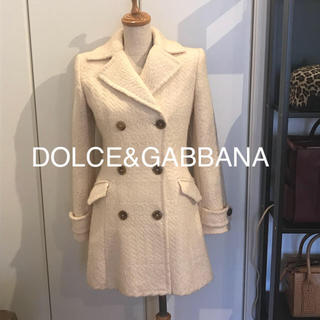 DOLCE&GABBANA - ドルチェアンドガッパーナ ハーフコート 美品