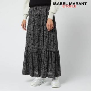 イザベルマラン(Isabel Marant)の【未使用】イザベルマラン 花柄ティアードマキシ丈スカート(ロングスカート)