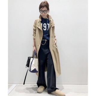 アパルトモンドゥーズィエムクラス(L'Appartement DEUXIEME CLASSE)のアパルトモン lisiere LYRIA Femme Coat ロング コート (ロングコート)
