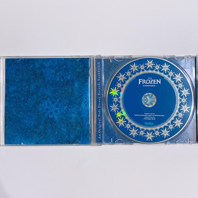 アナと雪の女王(アナトユキノジョオウ)のアナと雪の女王 CD サウンドトラック 輸入盤 美品! ディズニー  アナ雪 エンタメ/ホビーのCD(アニメ)の商品写真