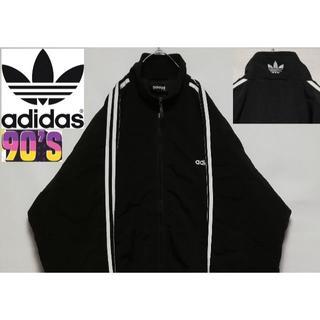 アディダス(adidas)の90年代 アディダス 中綿ナイロンジャケット トレフォイル(ナイロンジャケット)