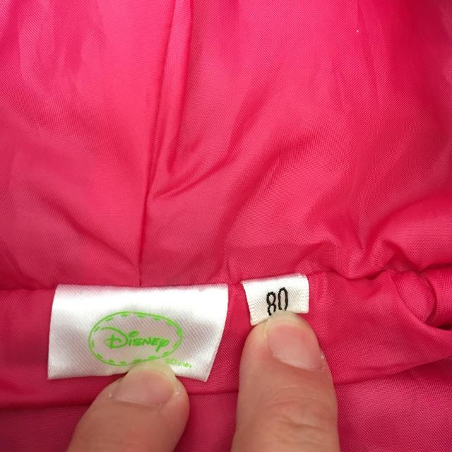 Disney(ディズニー)のディズニー レトロミニー アウター キッズ/ベビー/マタニティのベビー服(~85cm)(カバーオール)の商品写真
