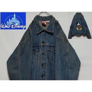 ディズニー(Disney)のディズニー ミッキー デニムジャケット(Gジャン/デニムジャケット)