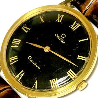 オメガ(OMEGA)の■美品.希少■OMEGA/Genève■アンティーク、メンズ 腕時計(腕時計(アナログ))