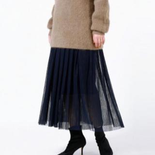 STUNNING LURE - 未使用★STUNNINGLURE★プリーツチュールスカート チュールスカート