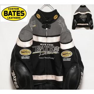 BATES ライダースジャケット M(ライダースジャケット)