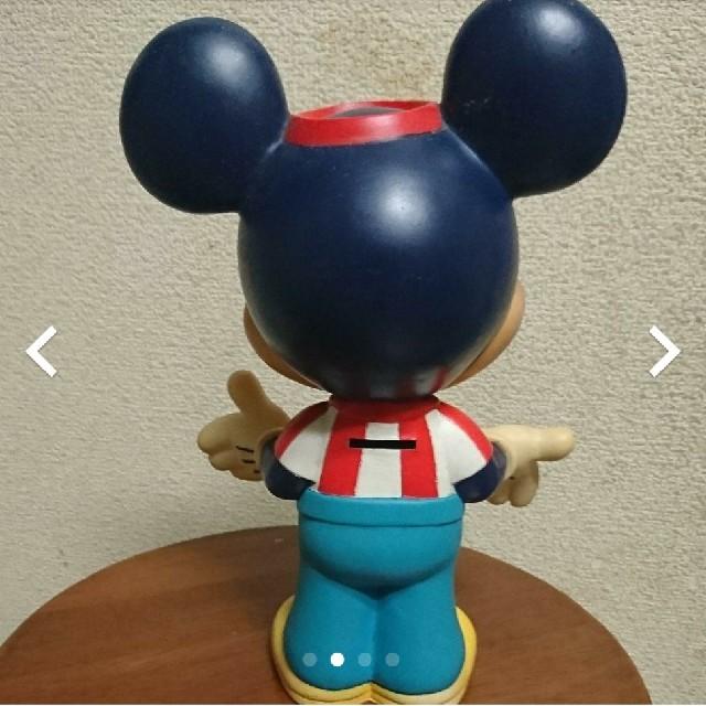 Disney(ディズニー)のミッキー貯金箱 フィギュア エンタメ/ホビーのおもちゃ/ぬいぐるみ(キャラクターグッズ)の商品写真