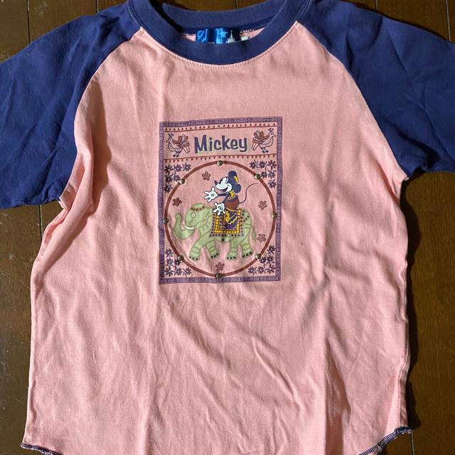 Disney(ディズニー)のTシャツ ディズニー ミッキーマウス レディースのトップス(Tシャツ(半袖/袖なし))の商品写真