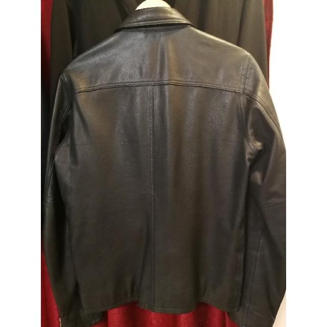 SHIPS(シップス)のSHIPS ライダースジャケット ラムレザー メンズのジャケット/アウター(ライダースジャケット)の商品写真