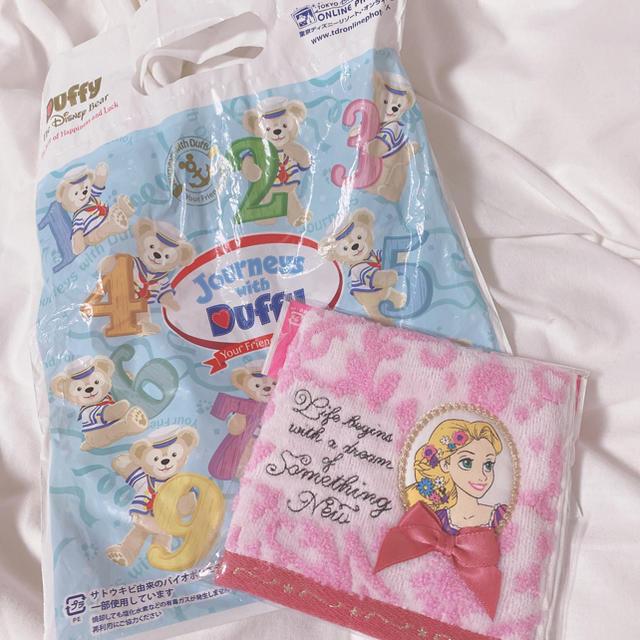 Disney(ディズニー)のミニタオル エンタメ/ホビーのアニメグッズ(タオル)の商品写真