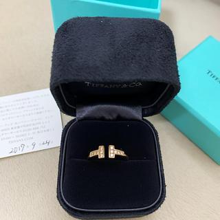 ティファニー(Tiffany & Co.)のティファニー T字 18K リング(リング(指輪))
