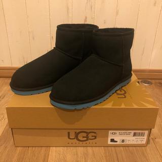 アグ(UGG)のUGG 26 クラシックミニ 限定 JS 別注カラー 青(ブーツ)