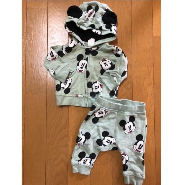 H&M(エイチアンドエム)のH&M ミッキー セットアップ 70cm キッズ/ベビー/マタニティのベビー服(~85cm)(その他)の商品写真