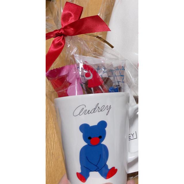 オードリー 名古屋限定 マグカップ 食品/飲料/酒の食品(菓子/デザート)の商品写真