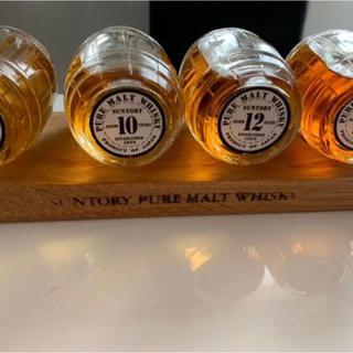 サントリー(サントリー)の激レア ✨ 非売品 ✨ サントリー ピュアモルト ウイスキー エイジングセット(ウイスキー)