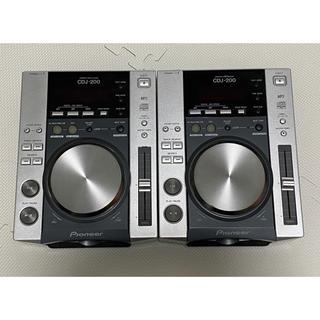パイオニア(Pioneer)の09年製 Pioneer CDJ-200 2台セット(CDJ)