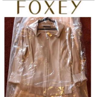 フォクシー(FOXEY)の【クリーニング店お仕上済・学校行事やお迎え、オフィスにも】フォクシー ジャケット(テーラードジャケット)