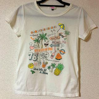 ピンクラテ(PINK-latte)のピンクラテ 半袖Tシャツ プリントTシャツ(Tシャツ(半袖/袖なし))