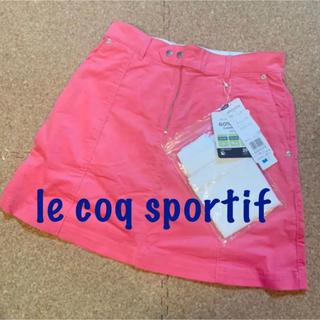 le coq sportif - 新品■12,100円【 ルコック 】 スカート L  11号  ピンク