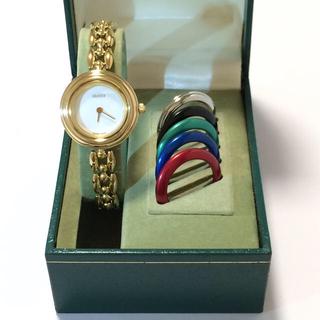 グッチ(Gucci)の6.美品 グッチ GUCCI 時計 チェンジベゼル(腕時計)