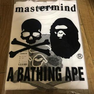 A BATHING APE - mastermind vs A BATHING APE Tシャツ L