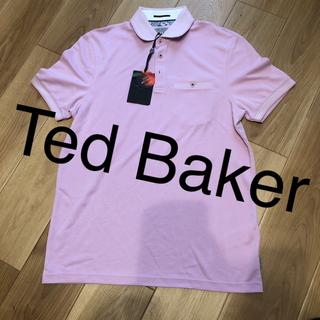 テッドベイカー(TED BAKER)のテッドベーカー ポロシャツ メンズ Pink M(シャツ)