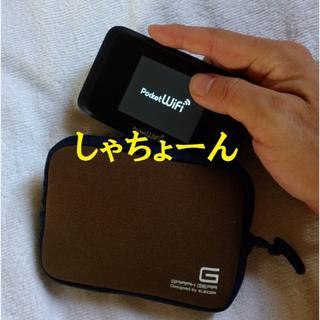 エレコム(ELECOM)のカメラカジュアルケース★新品未使用◎ポケットwi-fiにも◎送料無料(ケース/バッグ)