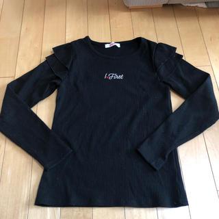 イングファースト(INGNI First)のINGNI First 150 カットソー長袖 黒(Tシャツ/カットソー)