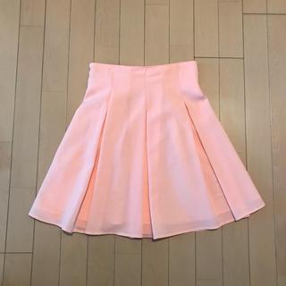 CECIL McBEE - シャーベットカラー フレアスカート