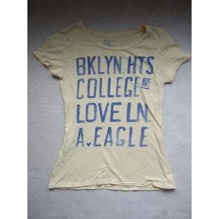 アメリカンイーグル(American Eagle)のアメリカンイーグルTシャツイエローgoodカラーL (Tシャツ(半袖/袖なし))