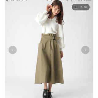 mysty woman - ベルト付きスカート