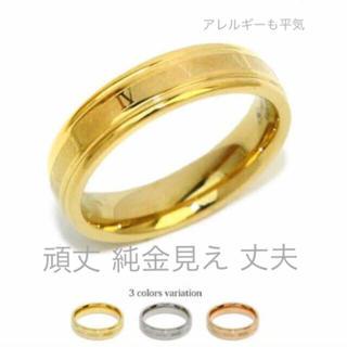 錆びない変色しない ステンレス ローマ数字 リング 11号から32(リング(指輪))