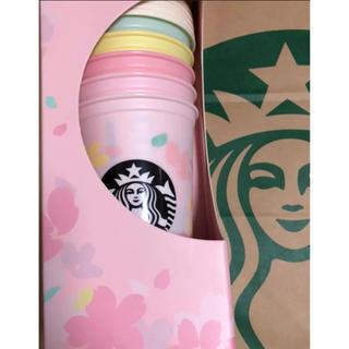 Starbucks Coffee - スタバ SAKURA2020リユーザブルカップ473mlセット&バッグ