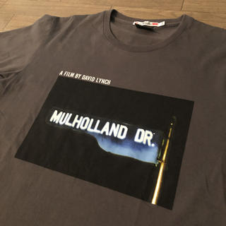 UNIQLO - 【おまけ付】UT × デヴィッド リンチ マルホランドドライブ 半袖 Tシャツ