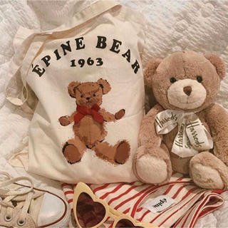 one after another NICE CLAUP - EPINE BEAR tote bag